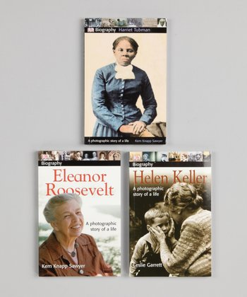 Eleanor Roosevelt, Harriet Tubman & Helen Keller Paperbacks