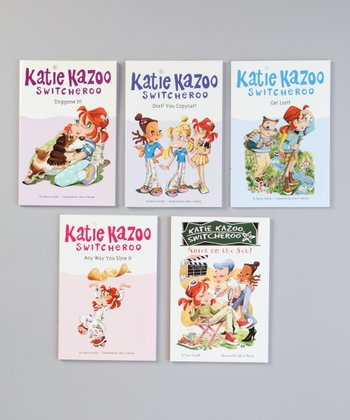 Katie Kazoo, Switcheroo Paperback Set