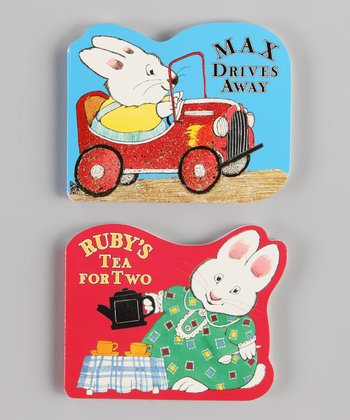 Max & Ruby Shaped Board Books