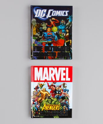 Comic Character Guide Hardcover Set