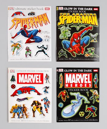 Marvel & Spider-Man Sticker Set