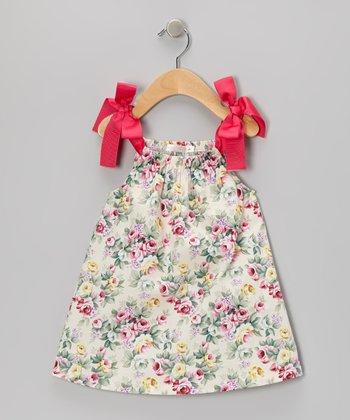 Pink Floral Swing Dress - Infant & Toddler