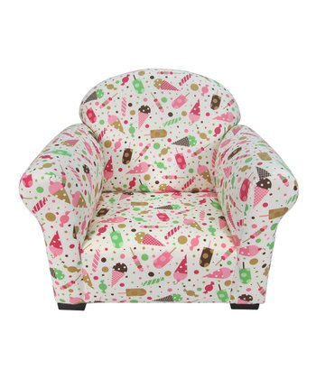 Pink & Green Dessert Ella Club Chair