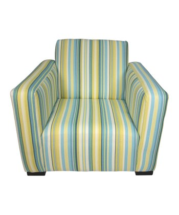 Beach Stripe Jayden Club Chair
