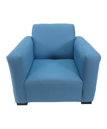 Blue Jayden Club Chair