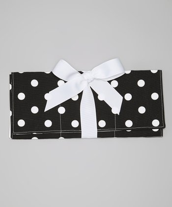 Black & White Polka Dot Changing Pad