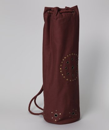 Chocolate Chakra Rivet Yoga Bag