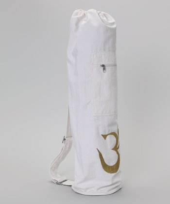 White Shiva Yoga Bag