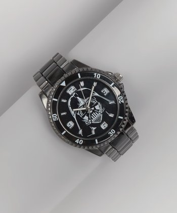 Black Gunmetal Star Wars Watch