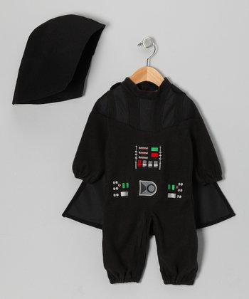 Black Darth Vader Romper Set - Infant & Toddler