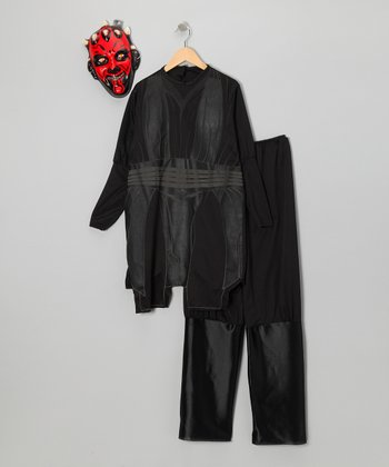 Black Darth Maul Dress-Up Set - Kids