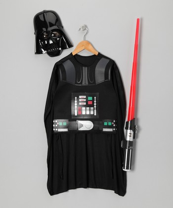 Black Darth Vader Dress-Up Set