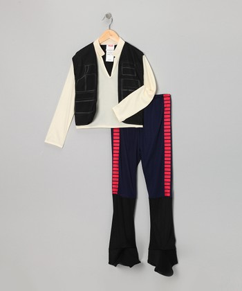 Blue & Tan Han Solo Dress-Up Set - Kids