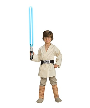 Cream Deluxe Luke Skywalker Dress-Up Set - Kids