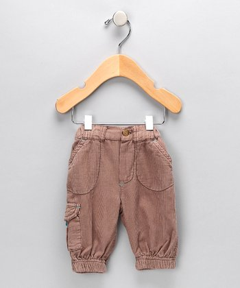 Coffee Cargo Pants - Infant & Toddler