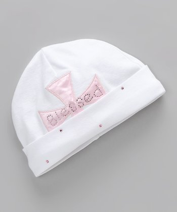 White Blessed Beanie - Infant