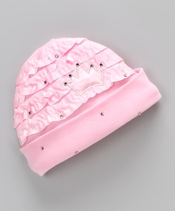 Pink Royal Baby Beanie - Infant