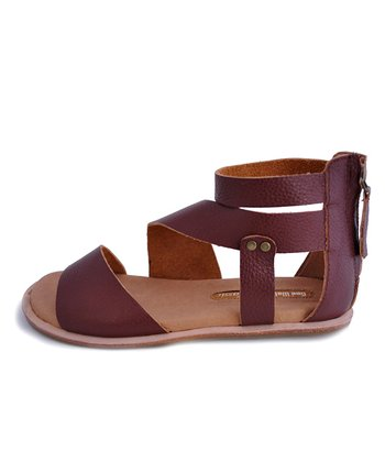 Brown Happiness Meeya Gladiator Sandal