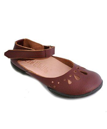 Brown Happiness Rosa Ankle Flat