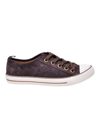 Dark Brown Suede Ruby Sneaker