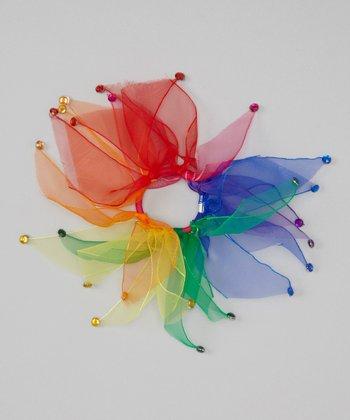Seesaws & Slides Rainbow Rhinestone Hair Tie
