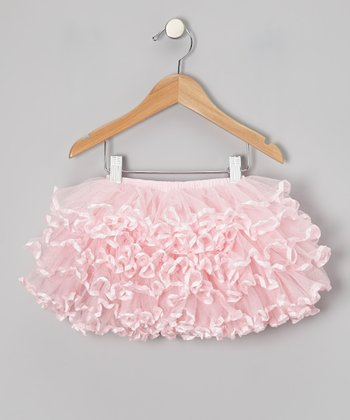 Pink Curly Pettiskirt - Infant, Toddler & Girls