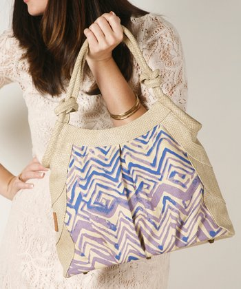 Cream Tulip Shoulder Bag