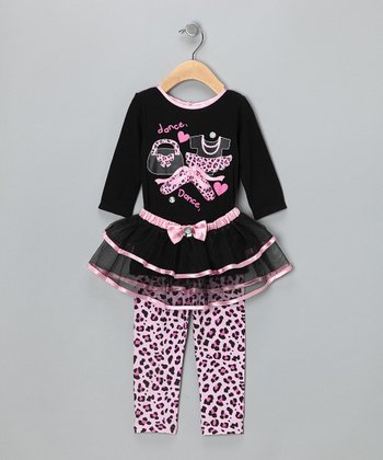 Black Dance Tutu Set - Infant
