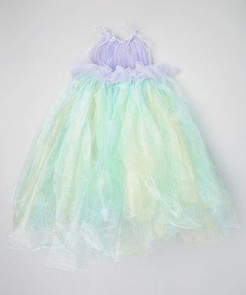 Light Blue & Lavender Tutu Dress - Toddler & Girls