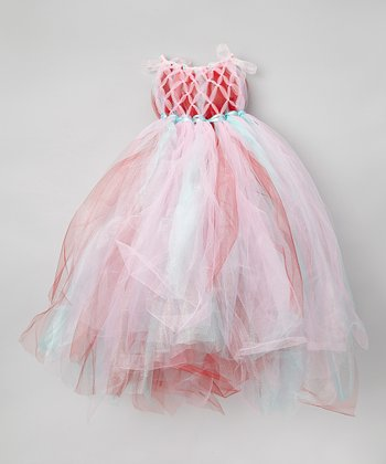 Pink Candyland Tulle Dress - Infant, Toddler & Girls