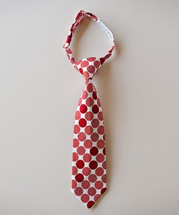 Red Polka Dot Tie