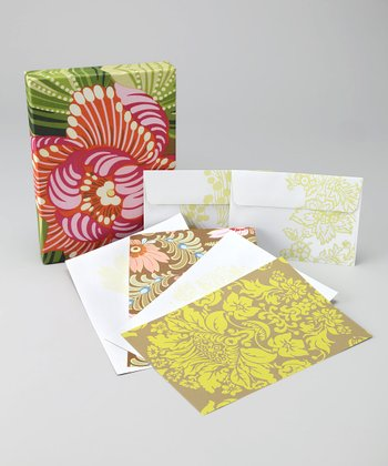 Sunblooms by Amy Butler Stationery Set