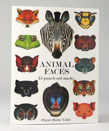 Animal Faces Paperback