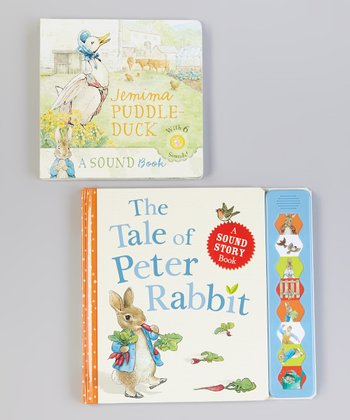 Peter Rabbit Sound Book Hardcover Set