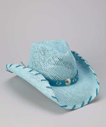 Blue Chilled Cowboy Hat - Kids