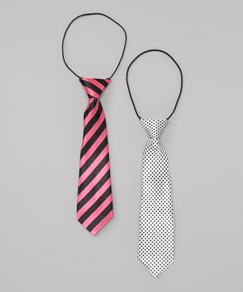 Dot & Stripe Tie Set