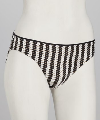 Swim Systems Black & White Bikini Bottoms