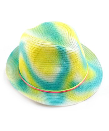 Frosted Yellow Swirl Hat