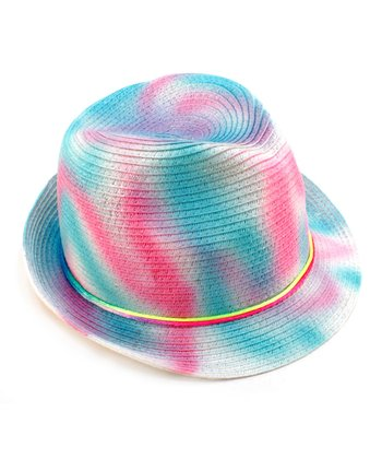 Frosted Pink Swirl Hat