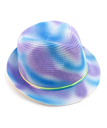 Frosted Purple Swirl Hat