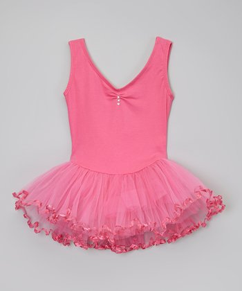 Fuchsia Tutu Dress - Toddler & Girls