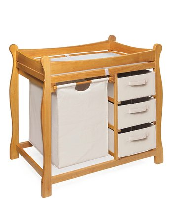 Honey Sleigh Changing Table