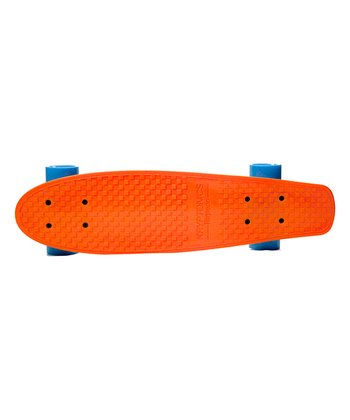 Orange Kryptonics Torpedo Skateboard