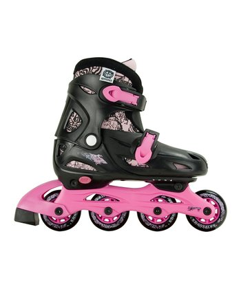 Black & Purple Fabulous In-Line Skates