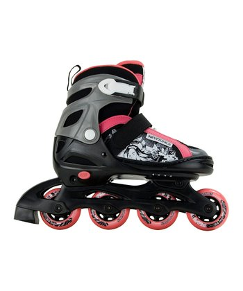 Black & Pink Gypsy In-Line Skates