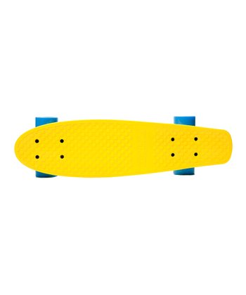 Yellow Kryptonics Torpedo Skateboard