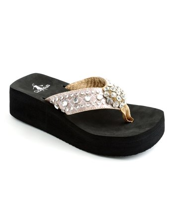 Taupe Los Angeles Thong Sandal