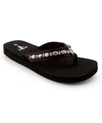 Black Sandy Sandal