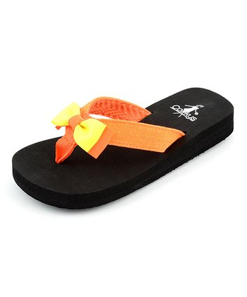 Orange & Yellow Nikki Flip-Flop