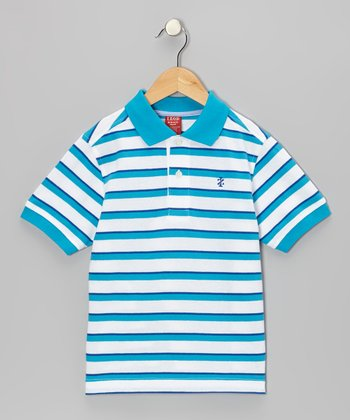 Surf Stripe Polo - Boys